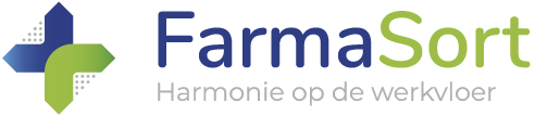 farmasort sorteeroplossingen apotheek logo